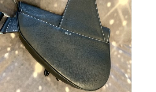 Dior saddle bag for men